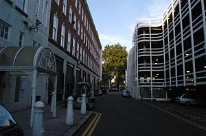 Dorset Street (Spitalfields) - The former Dorset Street in 2006. Miller's Court was located on the left side of this photograph.