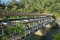 Double-deck Western Portal road-rail bridge over Ohinemuri River at Karangahake.jpg