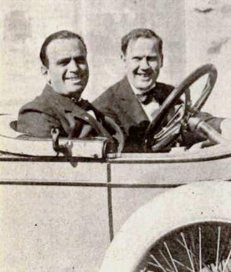 Thomas J. Geraghty - Douglas Fairbanks and Thomas J. Geraghty in 1920