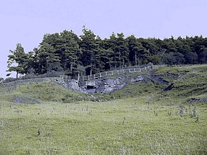 Milecastle 21 - Image: Downhill Quarry (disused)
