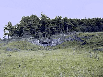 Milecastle 21 - The quarry at Downhill which has obliterated any trace of the milecastle
