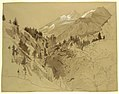 Drawing, Mountains near Meiringen, Switzerland, 1856 (CH 18468209).jpg