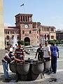 Drinking Fountain in Republic Square - Central Yerevan - Armenia (18960899235).jpg