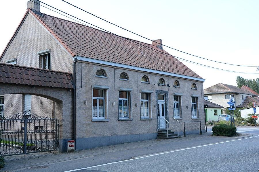 Dubbelhuis, Geraardsbergse steenweg 54, Oosterzele