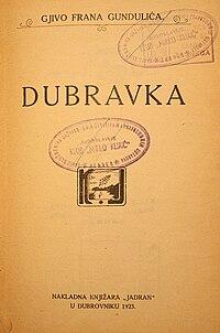 Dubravka cover