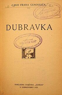 <i>Dubravka</i> (drama) play
