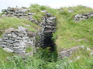 Dun Ringill - Dun Ringill doorway
