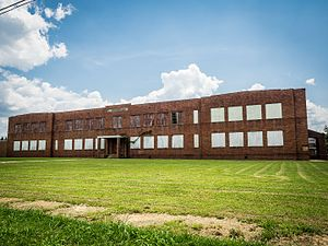 National Register of Historic Places listings in Jefferson County, Alabama - Image: Dunbar HS Bessemer 8020481