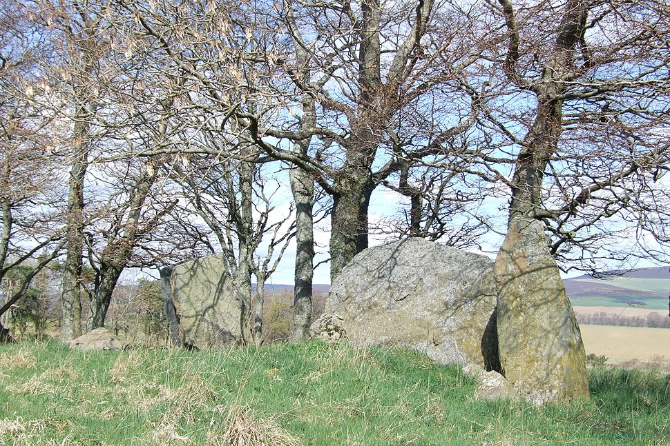 Dunnideer Remnants of Recumbent Stone Circle