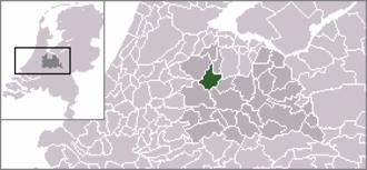 Breukelen - Image: Dutch Municipality Breukelen 2006