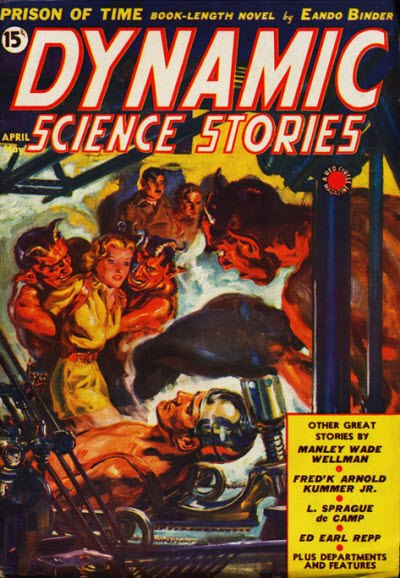 Dynamic Science Stories April-May 1939