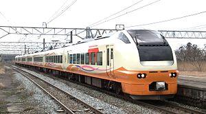 Inaho - Image: E653 1000 Inaho 5 Sakamachi 20140322