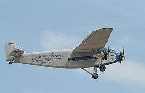 Stout Metal Airplane - Ford 4-AT Trimotor