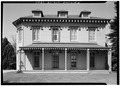 EAST FLANK - Kingscote, Bellevue Avenue and Bowery Street, Newport, Newport County, RI HABS RI,3-NEWP,61-2.tif