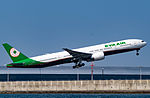 EVA Airways, Boeing 777-35E(ER), B-16725 (24724270713).jpg