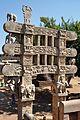 East Gateway - Rear Side - Stupa 1 - Sanchi Hill 2013-02-21 4471.JPG