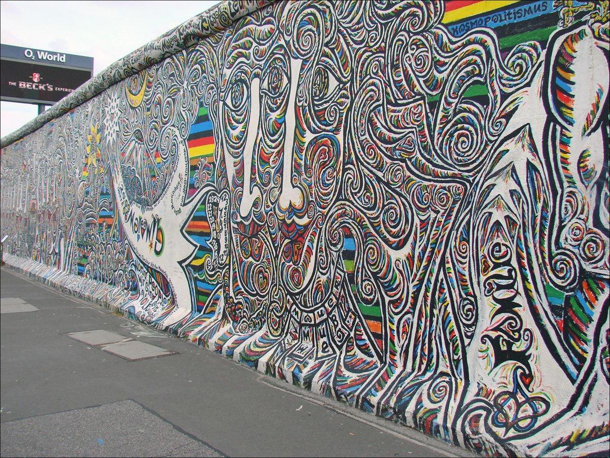 east german wall
