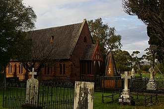 East Perth Cemeteries - St. Bartholomew's Church