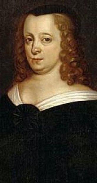 Ebba Brahe - Ebba Brahe in the dress of a widow.