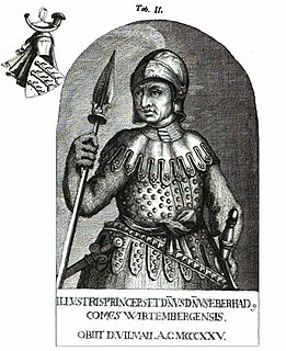 Eberhard I, Count of Württemberg Count of Württemberg