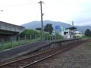 Echizen-Tomida Station Railway station in Ōno, Fukui Prefecture, Japan