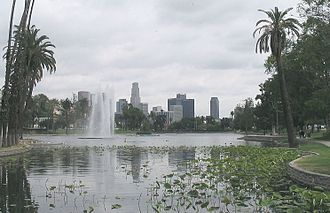 Northwest Los Angeles - Echo Lake in Echo Park