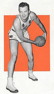 Ed Beisser All-American basketball player at Creighton University.