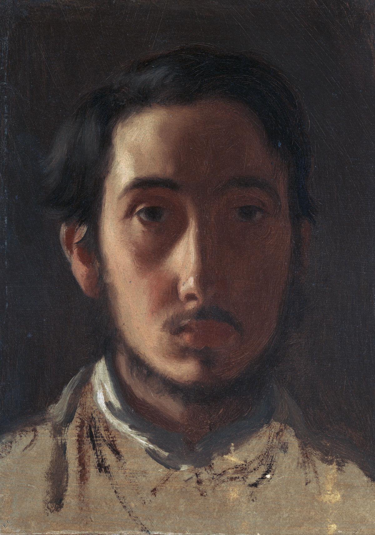 Degas Portrait