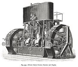 Edison Central Station Dynamos and Engine.jpg