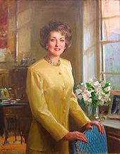 The official Department of Labor portrait of Elizabeth Dole.