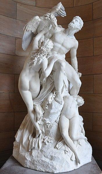 Sculptures (les plus belles bien sûr) - Page 4 351px-Eduard_M%C3%BCller_Prometheus_Alte_Nationalgalerie