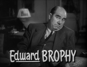 Edward Brophy - In The Thin Man Goes Home, 1945
