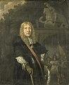 Een officier van de Leidse schutterij voor de poort van de Sint Jorisdoelen Rijksmuseum SK-C-21.jpeg