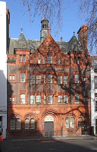French Protestant Church of London - Image: Eglise Francaise Soho Square 1 (24105299476)