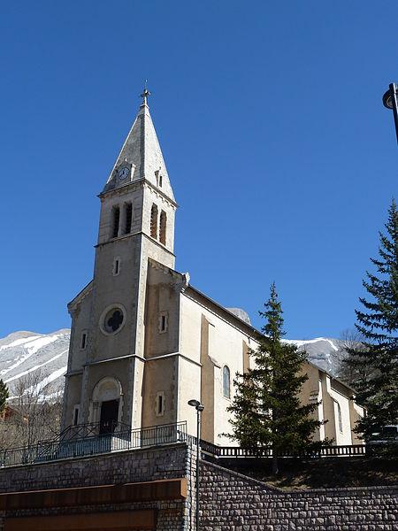 Eglise de St Etienne en Devoluy