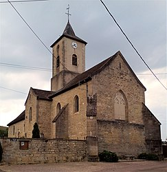 The church in Blaisy-Bas