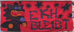 "Communist Party of Austria - Transparency of an ""EKH-bleibt-Aktion"" (Ernst-Kirchweger-House-remains action)"