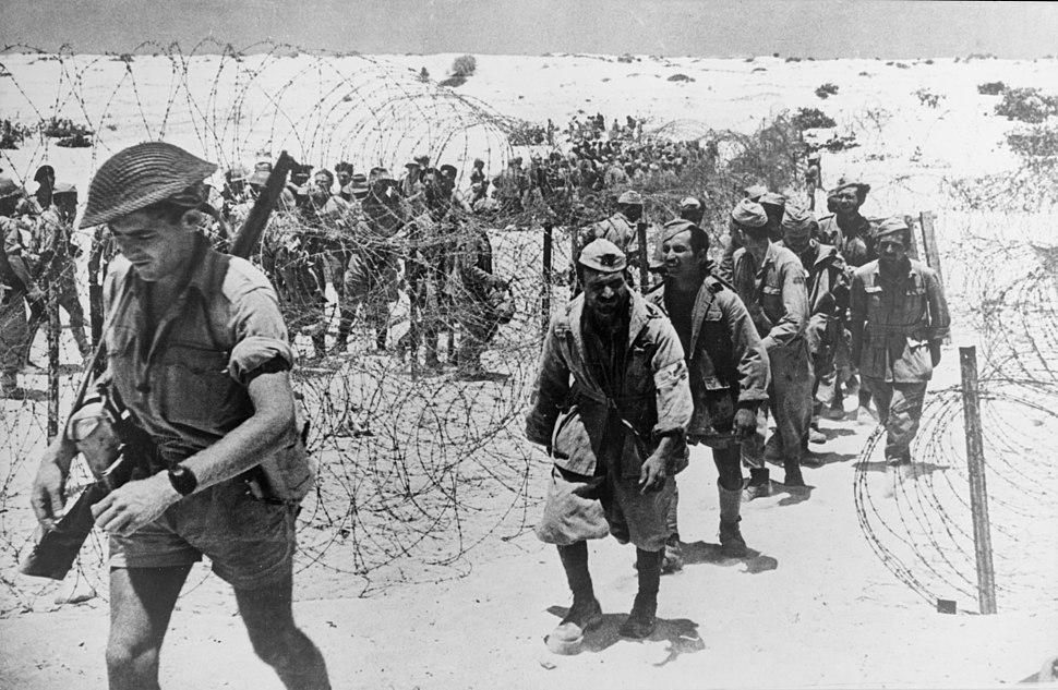El Alamein Italian prisoners 1942