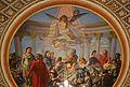 El Geni, la Glòria i l'Amor, pintura al sostre de la sala roja del palau del marqués de Dosaigües.JPG