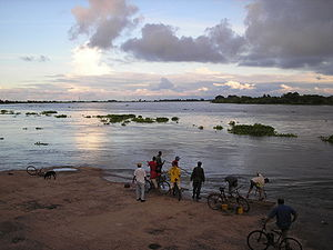 Magdalena Department - Overflow of the Magdalena River caused floodings in 2005.