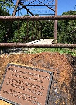 Elk Falls Truss Bridge NRHP 94000403 Elk County, KS (2).jpg