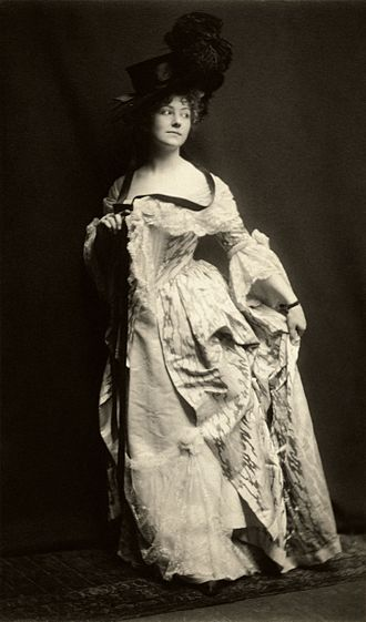The Rivals - Elsie Leslie as Lydia Languish in The Rivals, 1899. Photograph by Zaida Ben-Yusuf.