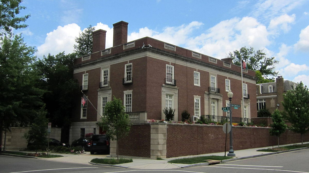 Embassy of Afghanistan, Washington, D C  - Wikipedia