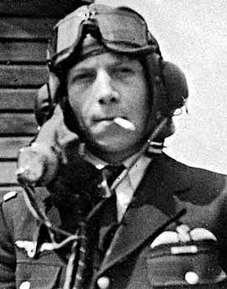 Free France - Emile Fayolle, pilot of the Free French Air Force, during the Battle of Britain.