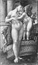 Emilian School of the 16th century (Alessandro Bedoli?) - Venus and Cupid - Google Art Project.jpg