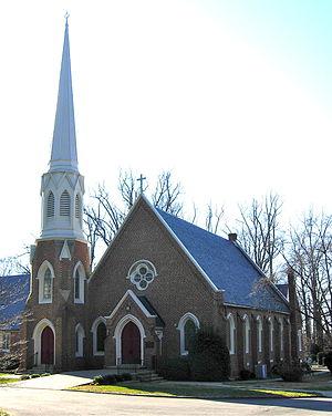 Emmanuel Church at Brook Hill - Image: Emmanuel Church