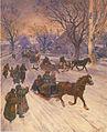 En Traineau a Saint-Eustache - Henri Julien - 1905.jpeg