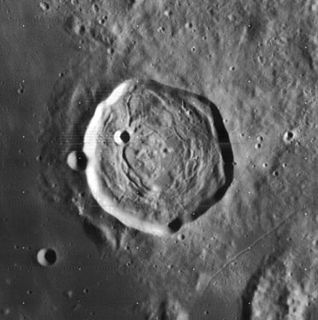 Encke (crater) impact crater