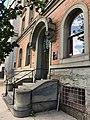 Entrance, Goucher House (1892, Stanford White), 2313 Saint Paul Street, Baltimore, MD 21218 (34074104604).jpg