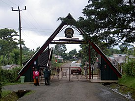 Entrance to Kilimanjaro National Park.JPG